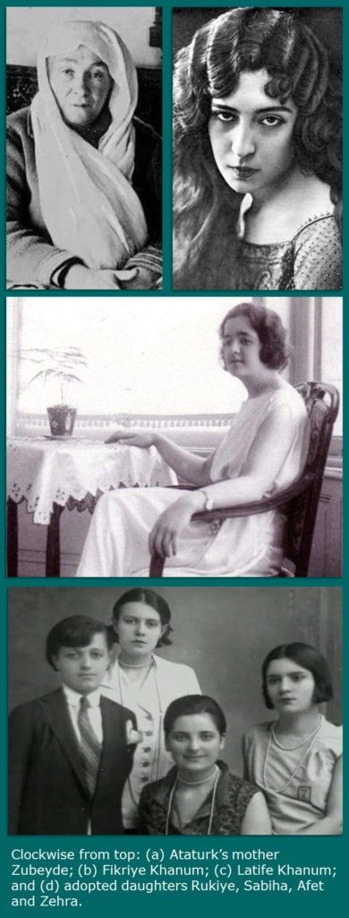 Women in the life of Ataturk