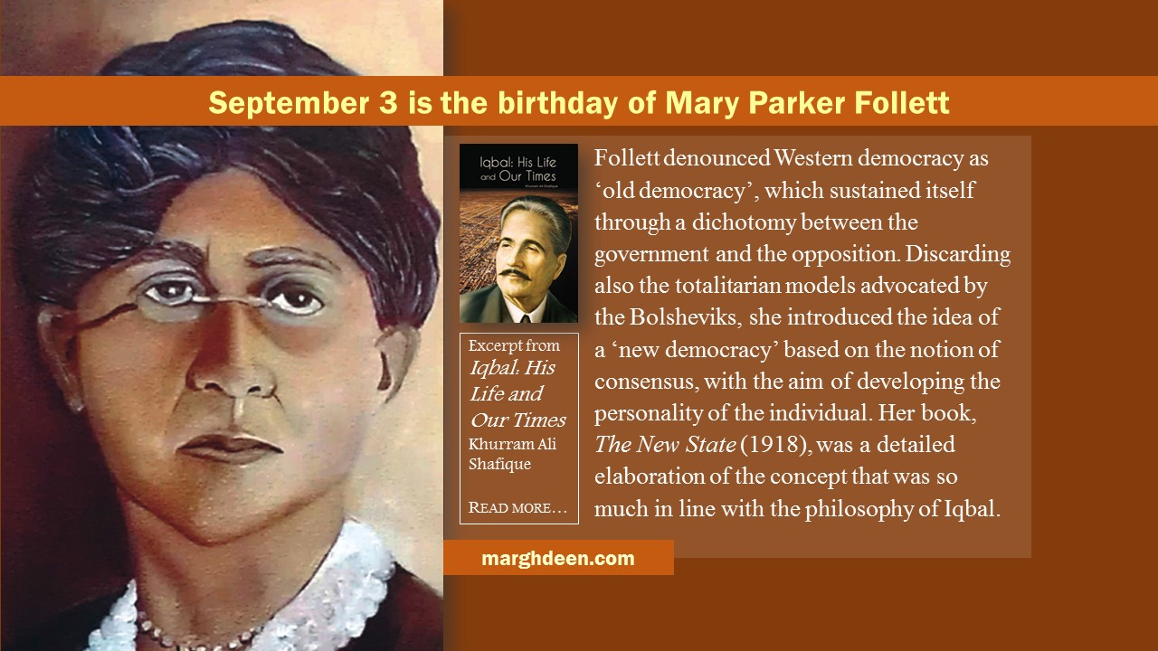 mary parker follett essay Mary parker follett (1868-1933) was a social philosopher who attempted to  of  circular response, developed in creative experience and in later essays and.