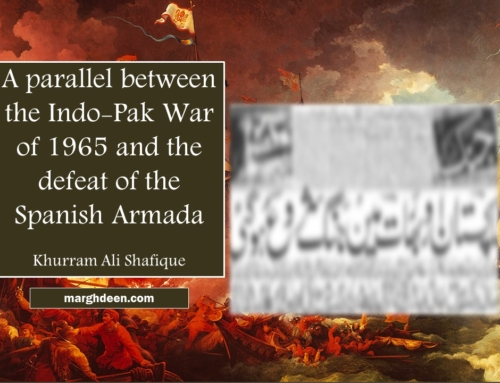A parallel between the Indo-Pakistan War of 1965 and the defeat of the Spanish Armada
