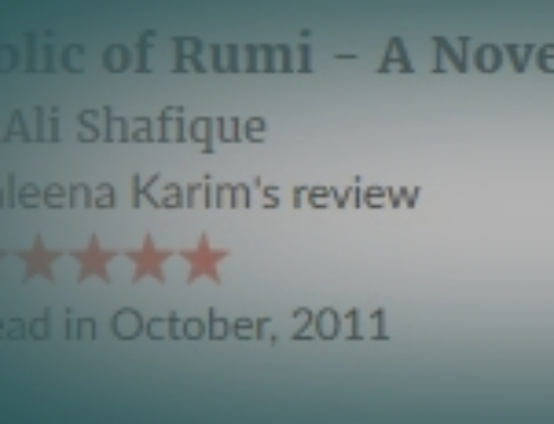 Saleena Karim's review of The Republic of Rumi: a Novel of Reality